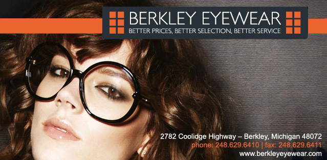 Since 2010,Berkley Eyewear & Local Sunglass Co.have been providing clientele with the highest quality, name brand frames and lenses in the area. It is dedicated to helping its clients find the perfect designer glasses to show their personal style and taste. From Ray Bans and Oakley to John Varvatos and more, Berkley Eyewear has something for everyone!