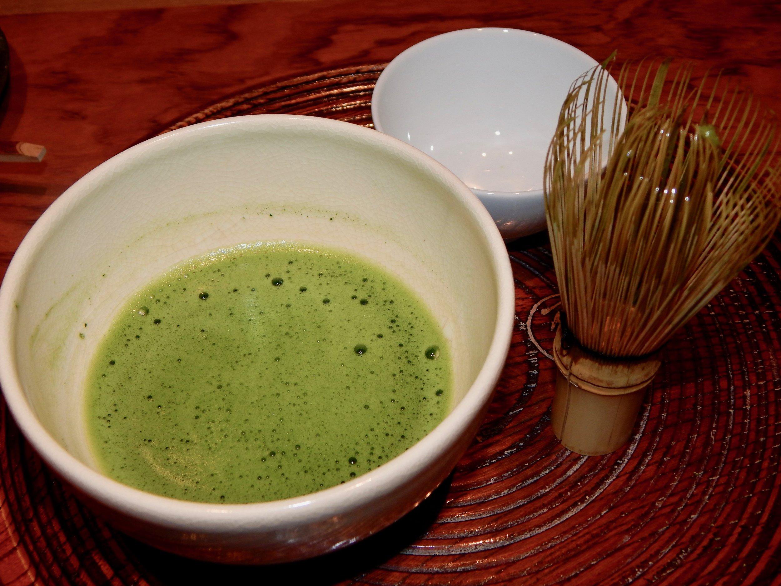 Authentic Matcha Green Tea—Tokyo, Japan