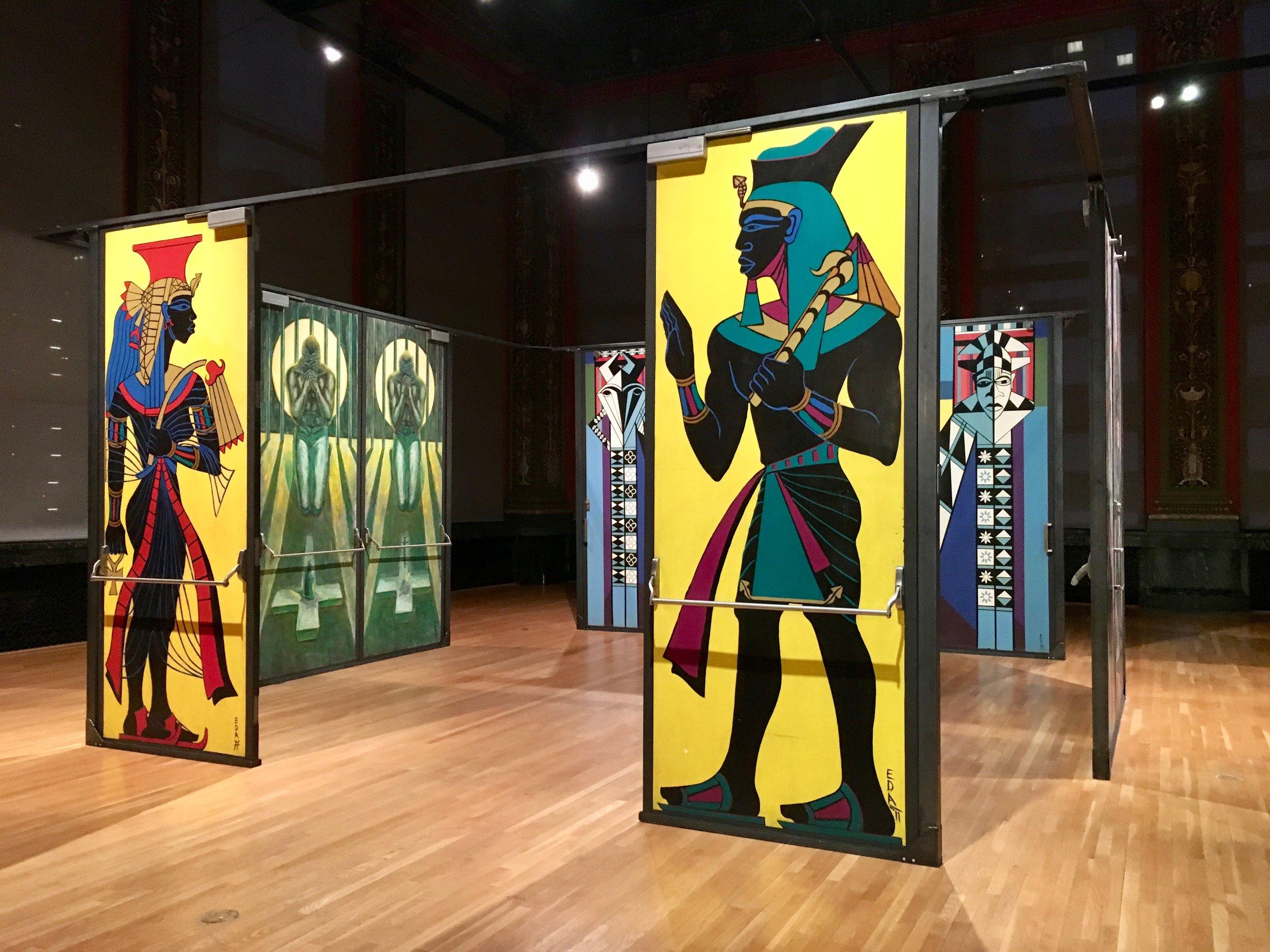 'Eugene Eda's Doors of Malcolm X College' Exhibit at Chicago Cultural Center,—Chicago, IL