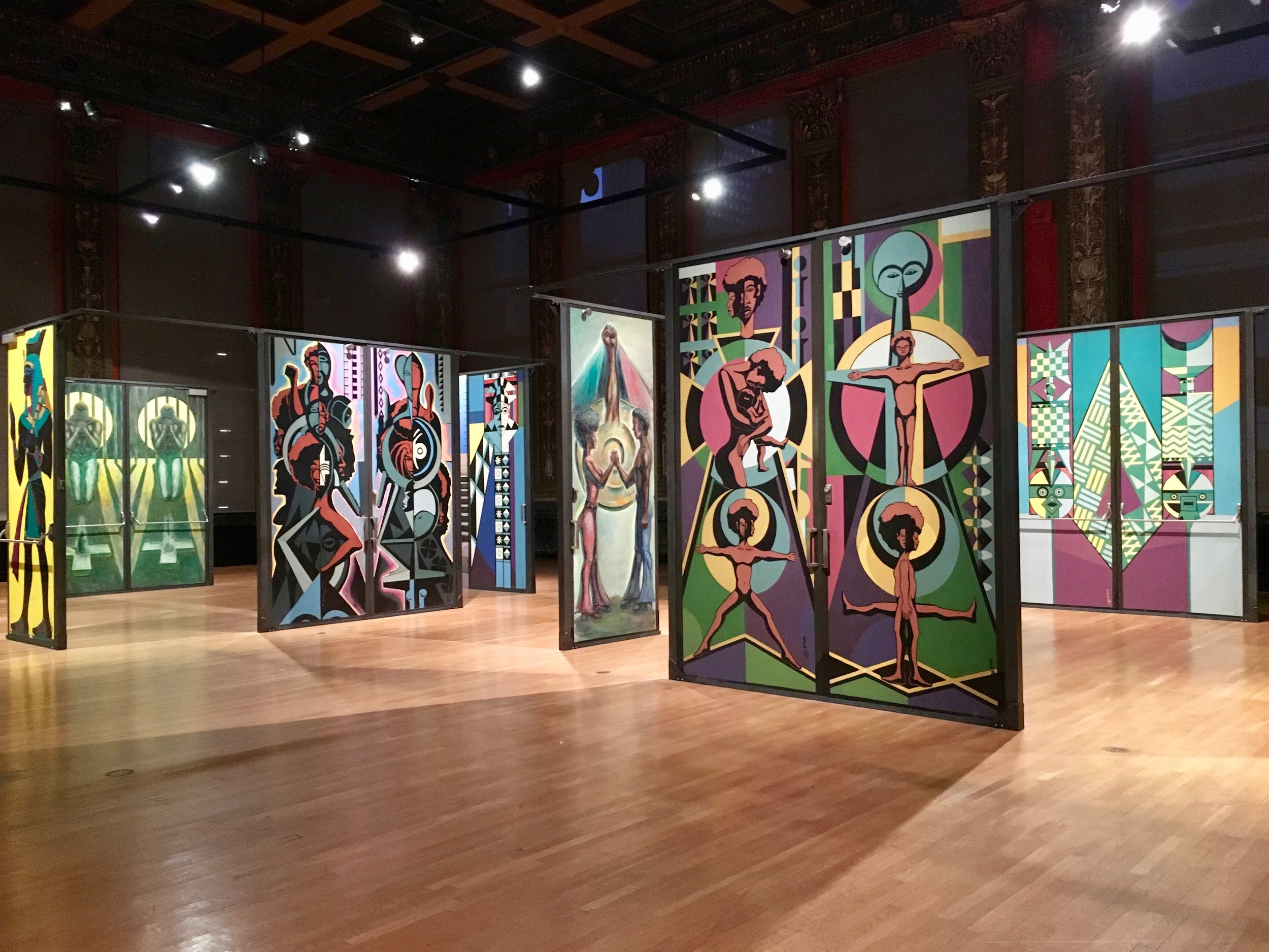 'Eugene Eda's Doors of Malcolm X College' Exhibit at Chicago Cultural Center—Chicago, IL