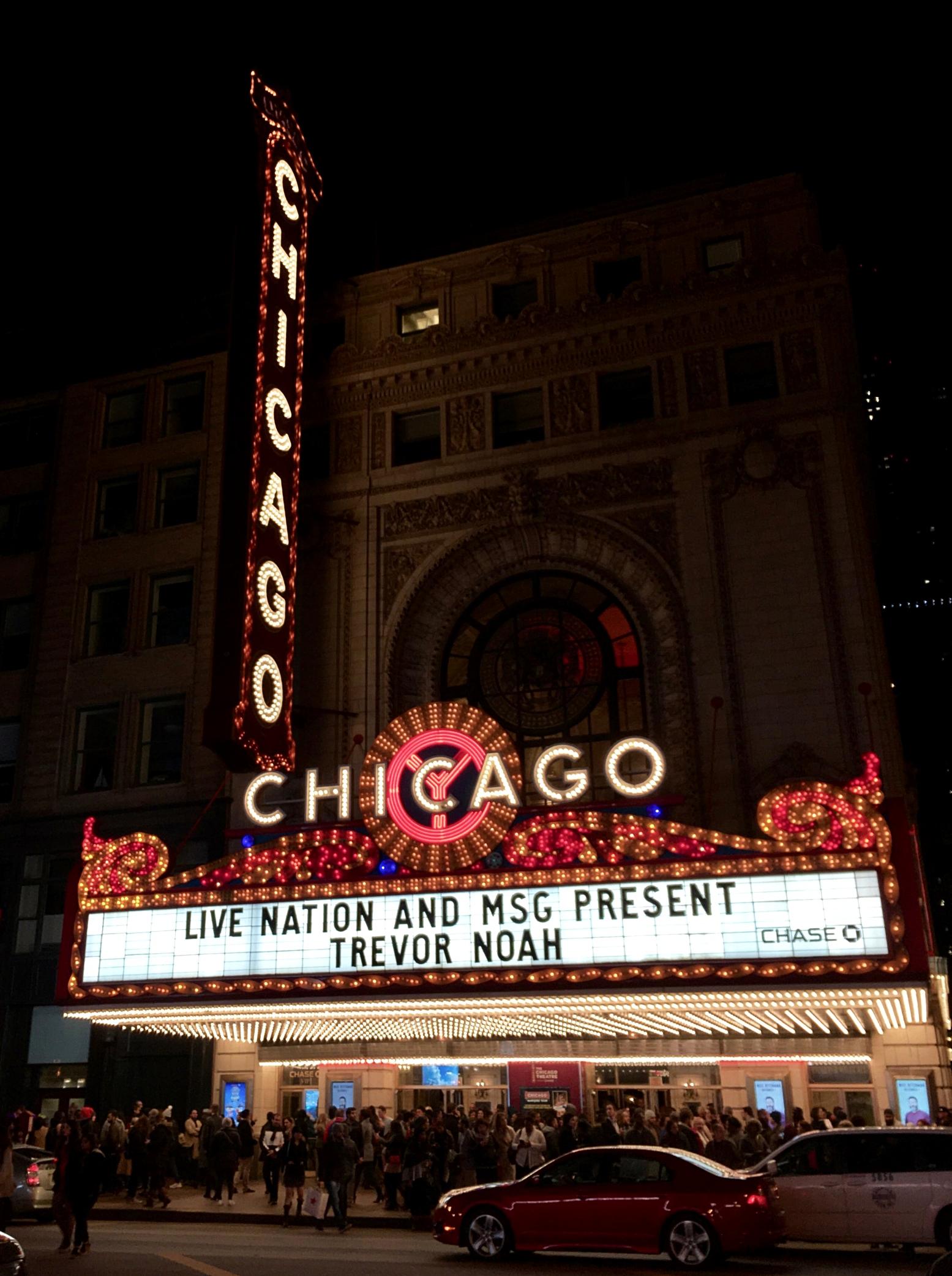 Trevor Noah at the Chicago Theatre—Chicago, IL