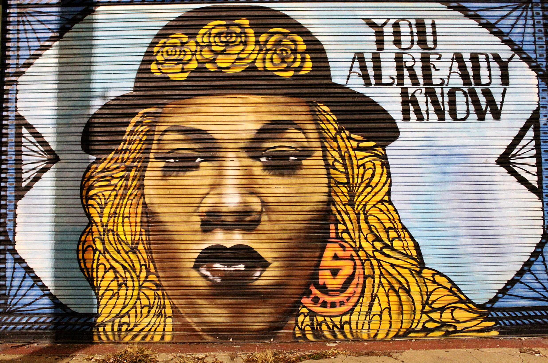 Big Freedia Mural in New Orleans