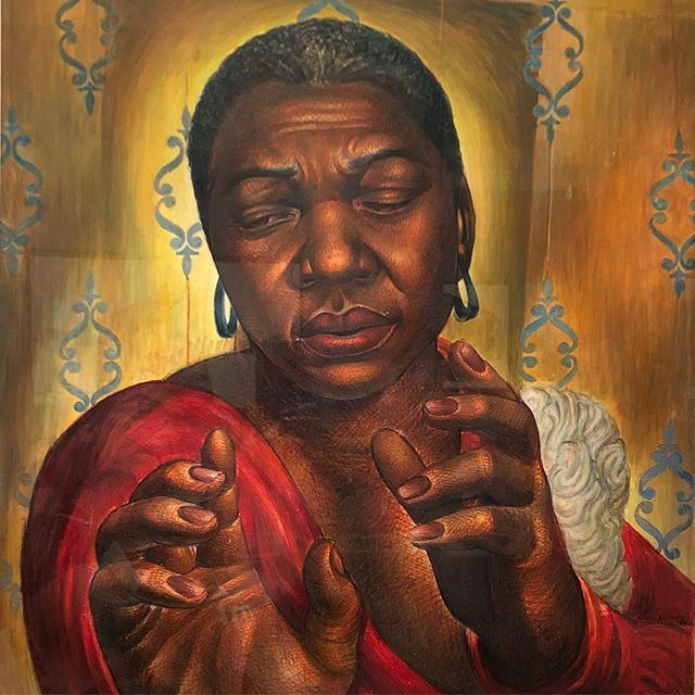 CHARLES WHITE: A RETROSPECTIVE at the @artinstitutechi ends September 4! This amazing exhibit is definitely worth seeing. Be sure to check it out before it's gone! • • • #YouAreBlackGold #CharlesWhite #ArtInstituteofChicago #ArtInstitute #BlackArt #fortheculture #Chicago #ChicagoArt #BlackHistory #BlackHistory365 #AmericanHistory #BlackHistoryisAmericanHistory #art #History #blackchicago #BlackCulture #BlackArts #BlackArtsMovement #BlackExcellence #chicagoarts  #chicagocreatives #museums @artinstitutechi