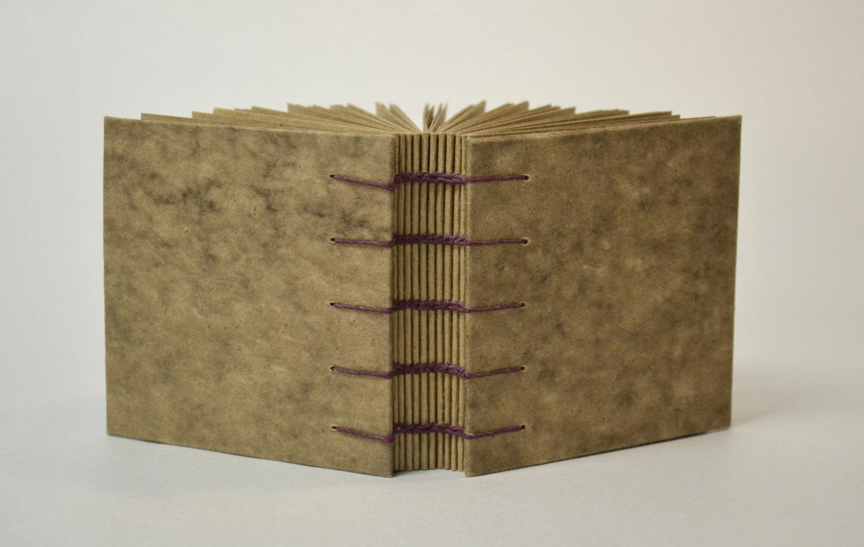 square brown book