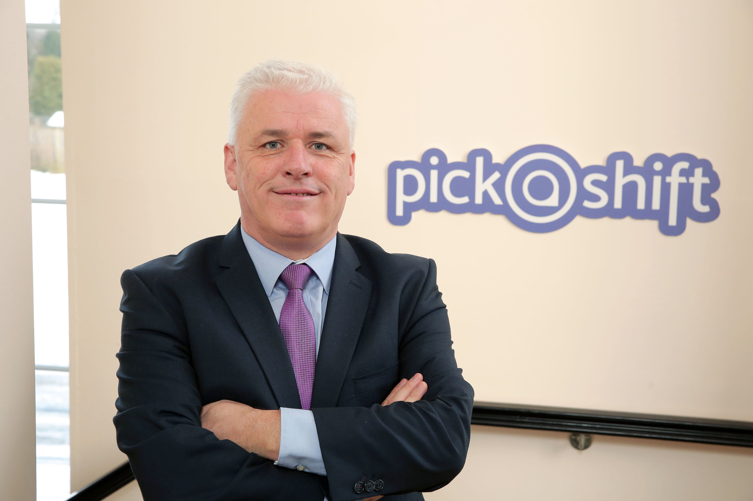 Former MLA and Health spokesperson Fearghal McKinney, one of the 'PickaShift' founders