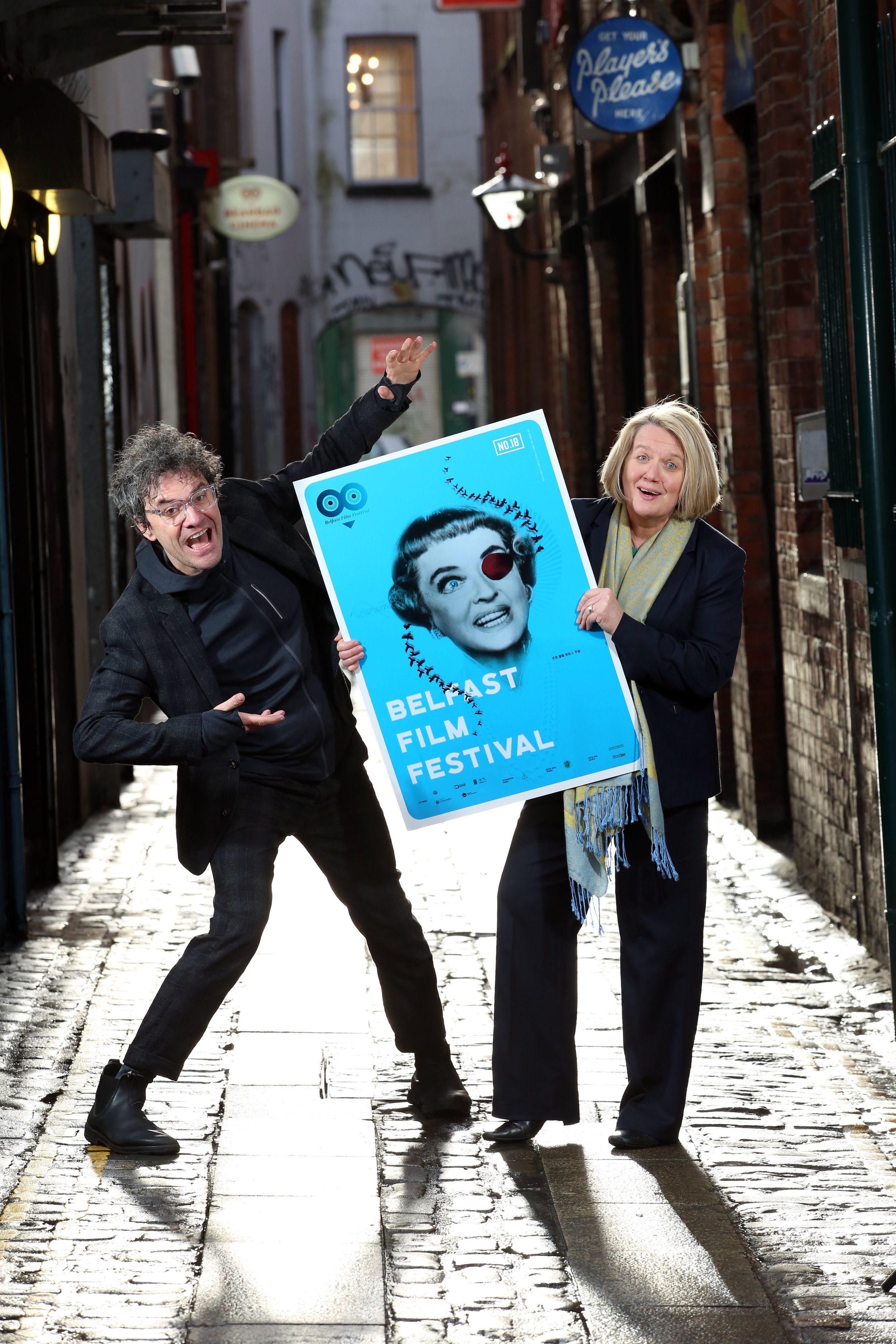 Chair of the Belfast Film Festival, Mark Cousins, with Director, Michele Devlin launch the 2018 Belfast Film Festival. The 2018 Belfast Film Festival is set to host 118 premieres out of 178 films ranging from features to short films to Virtual Reality (VR) titles drawn from 30 countries around the world.