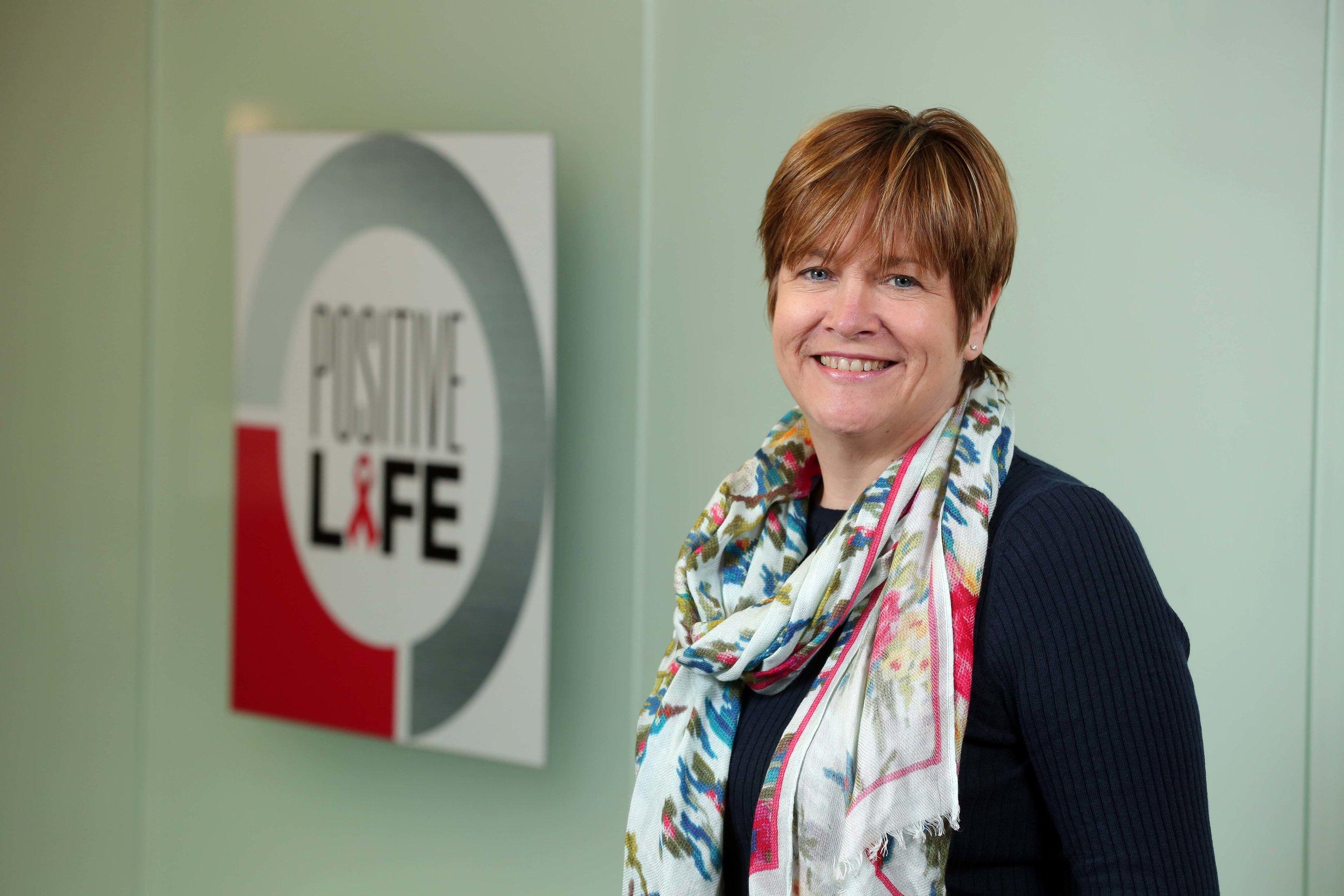 Jacquie Richardson, Chief Executive, Positive Life