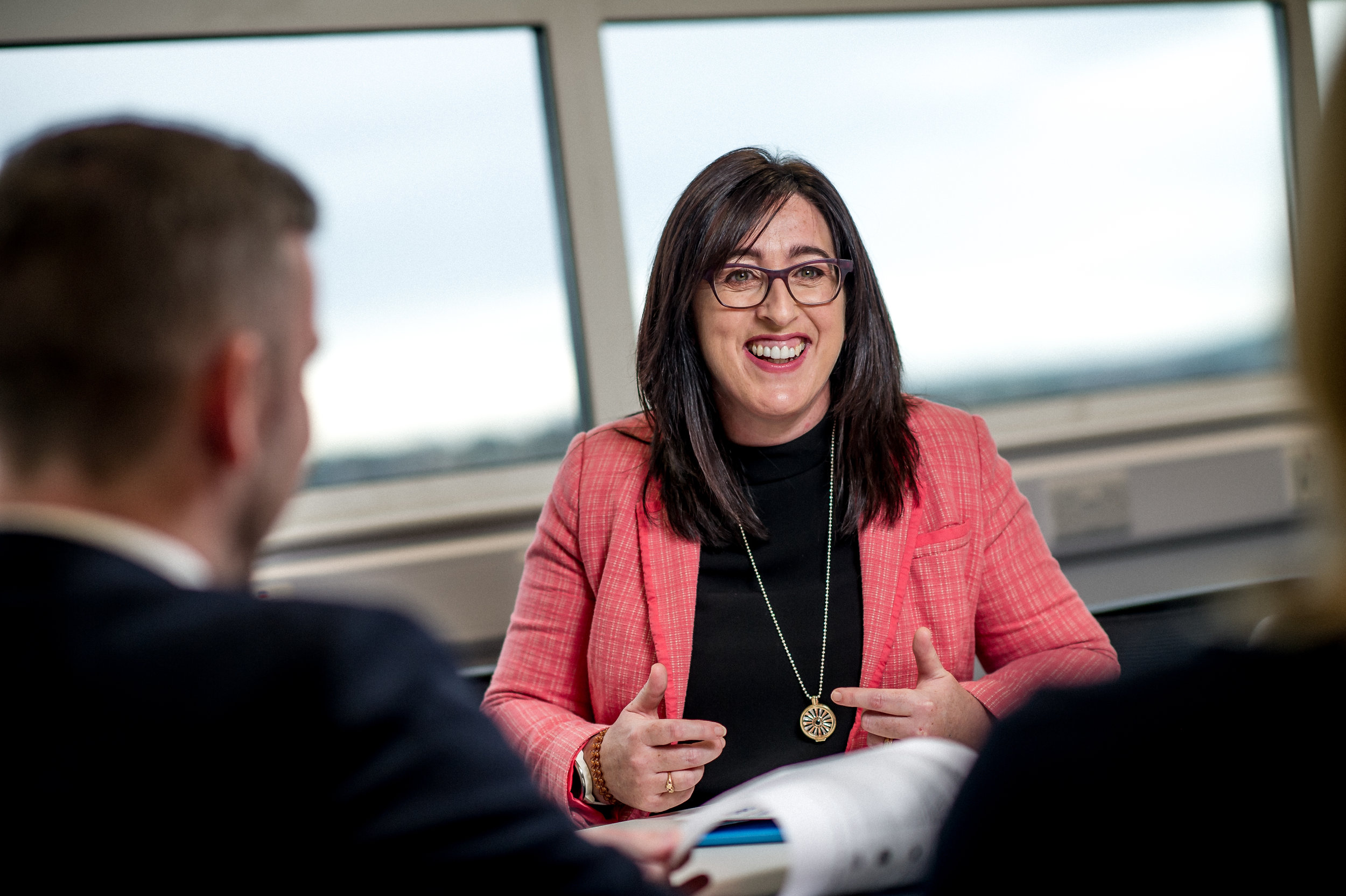 Georgina O'Leary is the director of innovation, research and development at Allstate and FinTech envoy for Northern Ireland
