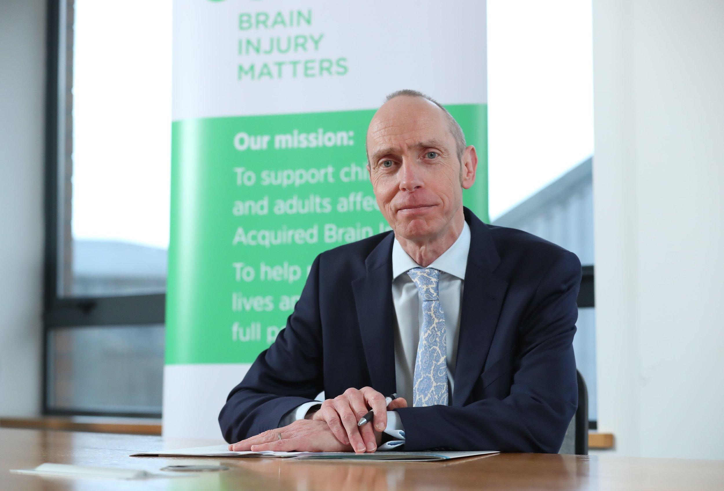 New Chief Executive of Brain Injury Matters, Joe McVey.