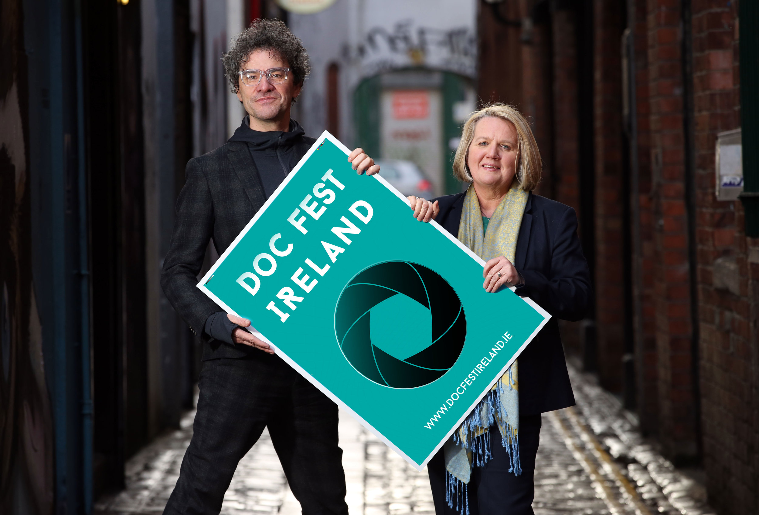 Chair of Belfast Film Festival Mark Cousins, and Director Michele Devlin launch Doc Fest Ireland, an exciting new documentary film festival.