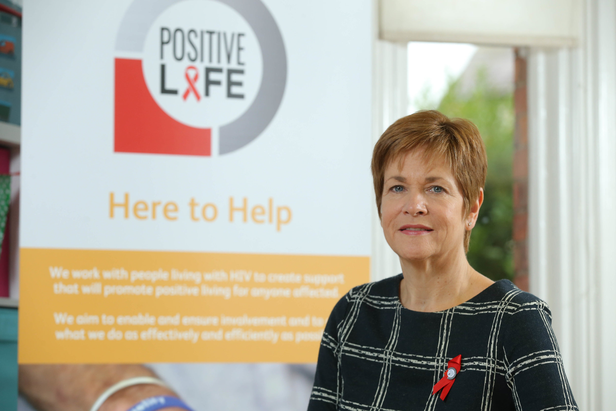 Chief Executive of Positive Life, Jacquie Richardson