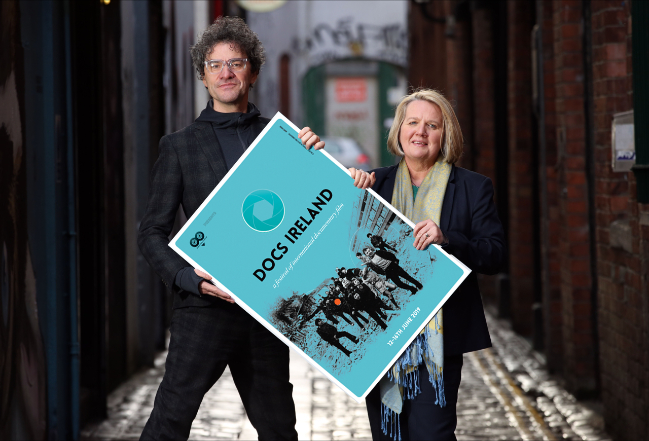 Mark Cousins and Michele Devlin launch the programme for DOCS IRELAND, the brand new all-Ireland documentary film festival taking place in Belfast from 12-16 June 2019.