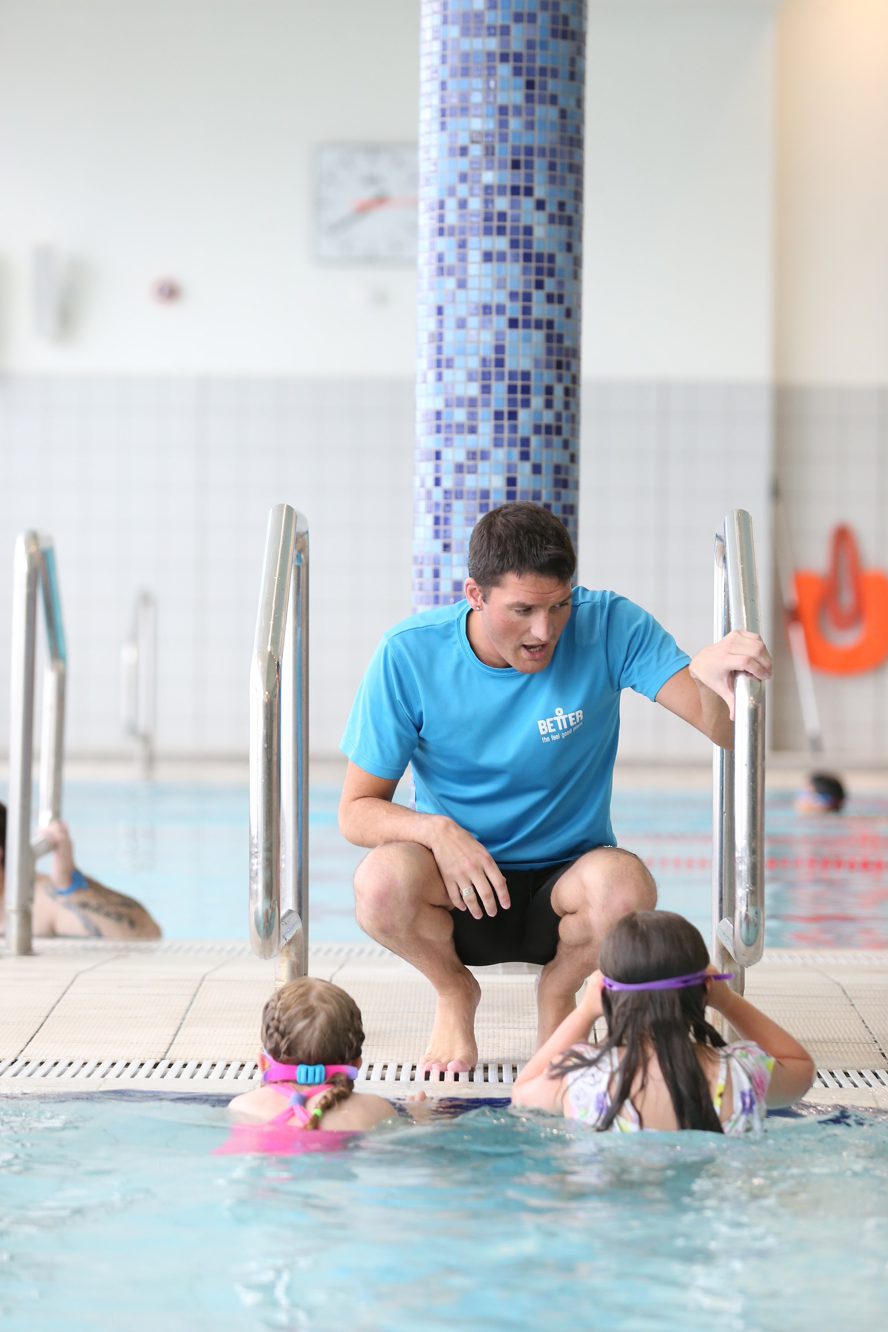 Better, which operates 7 swimming pools at leisure centres in Belfast is calling for nominations for Belfast's best swim teacher.