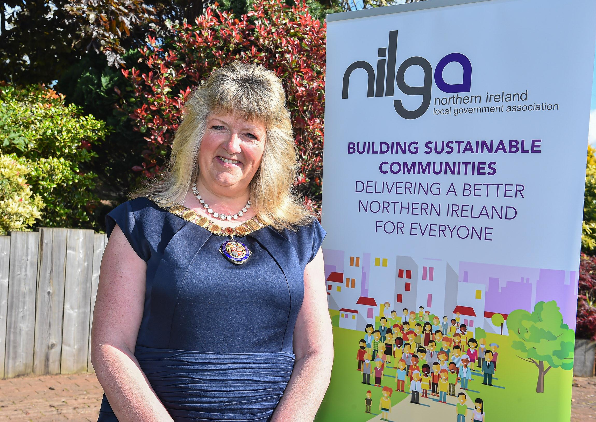 New NILGA President Cllr Frances Burton