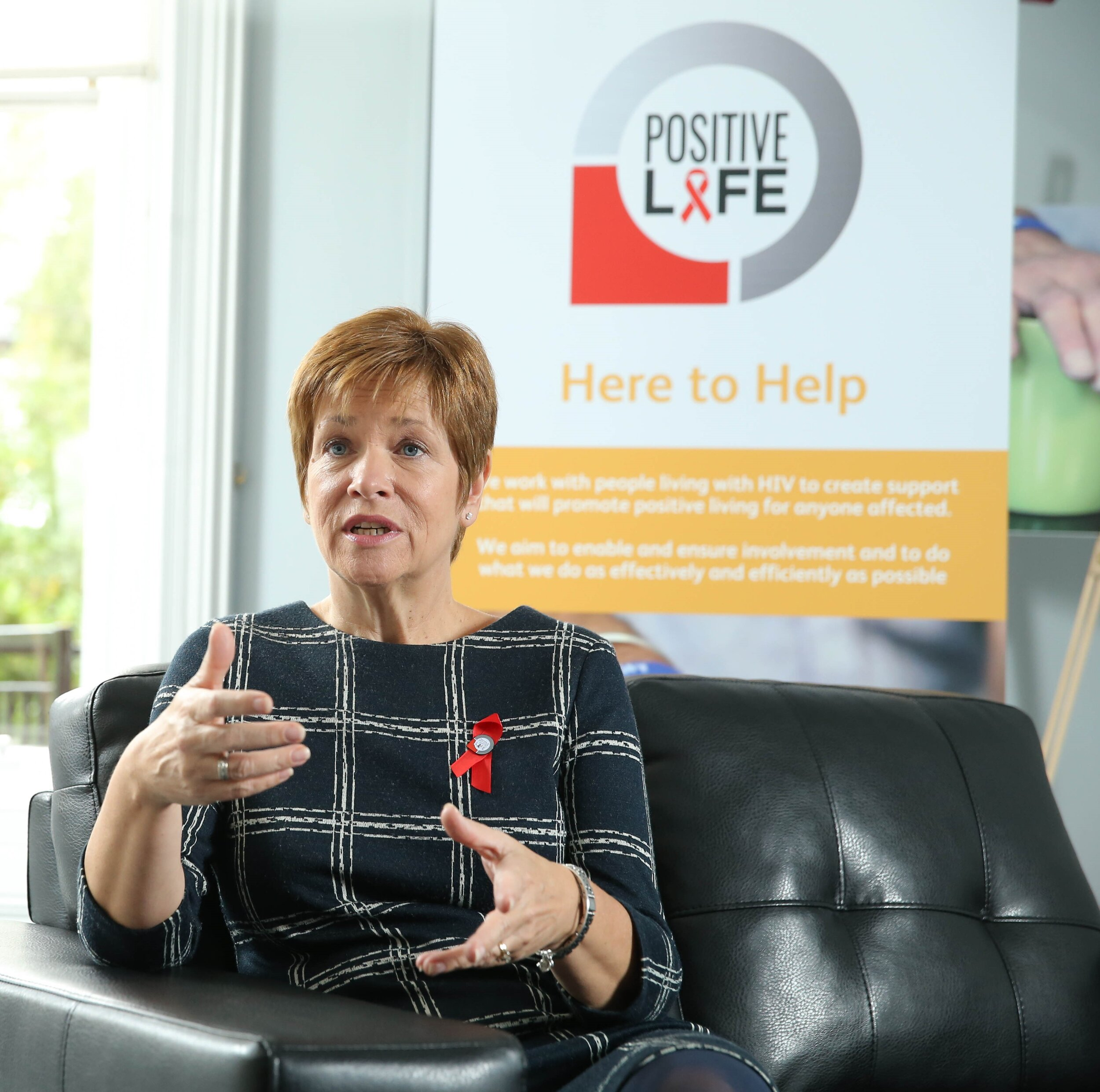 Chief Executive, Positive Life - Northern Ireland's only dedicated Charity supporting those with HIV
