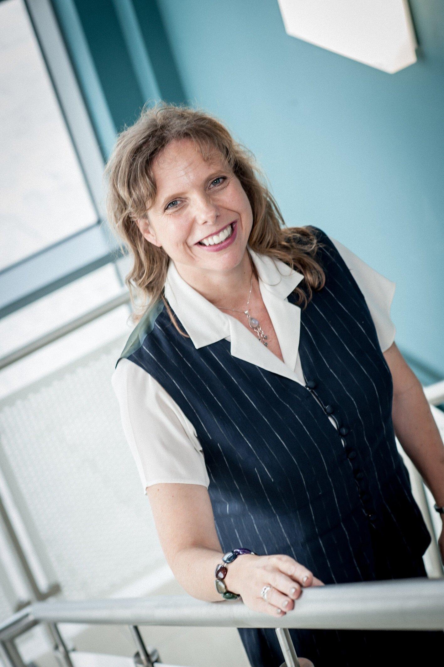 Bonnie Anley, Chair of Foyle Port
