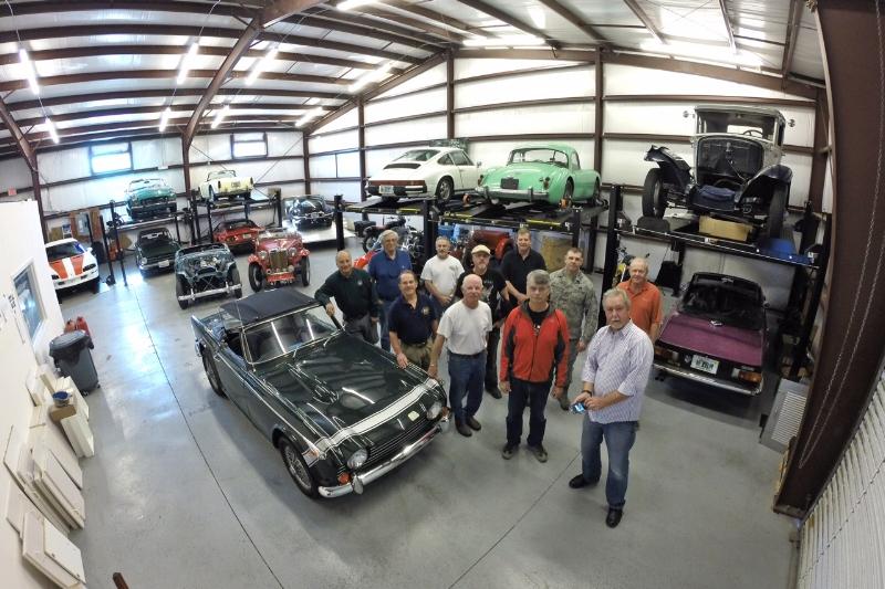 Wilhelm's Garage Meetup. Photo credit: Rob Cole
