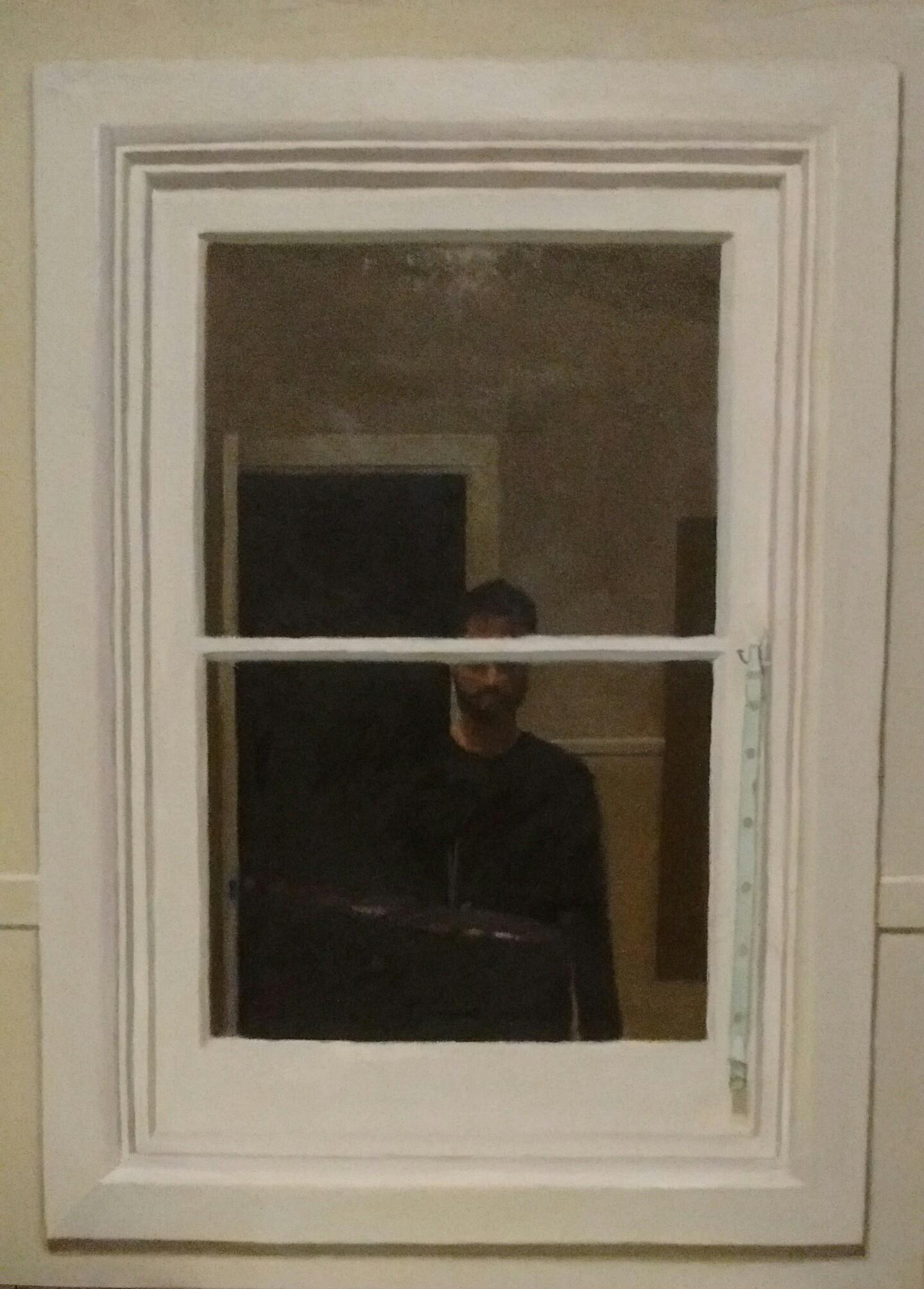 Reflection in Studio Window