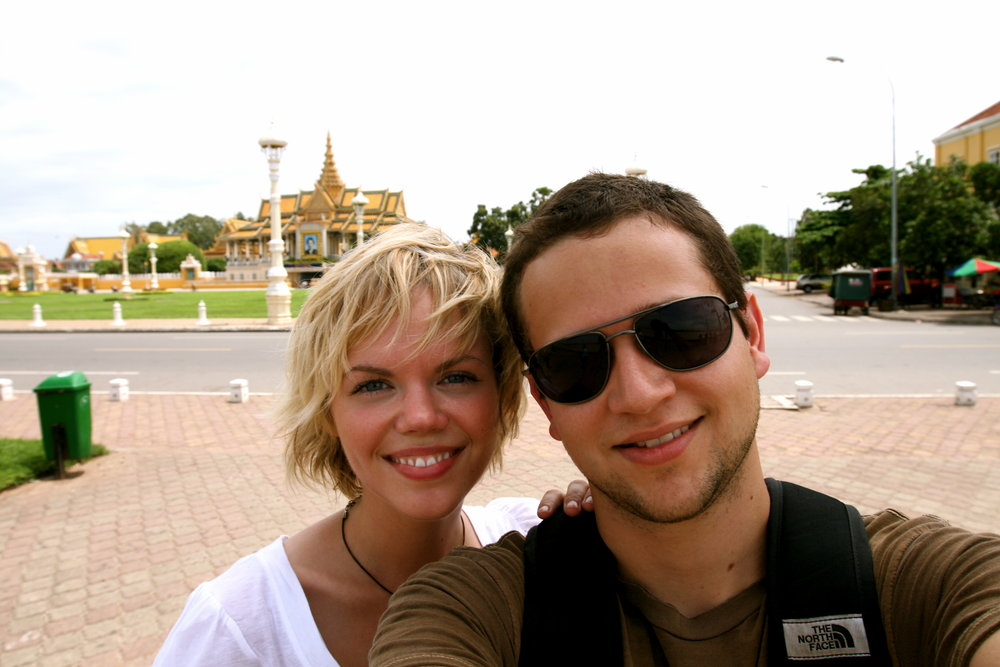 The early days, 2007 — mine and Julie's first trip to Cambodia solidified the calling in our hearts to champion and empower the voices of those silenced by sex trafficking. -