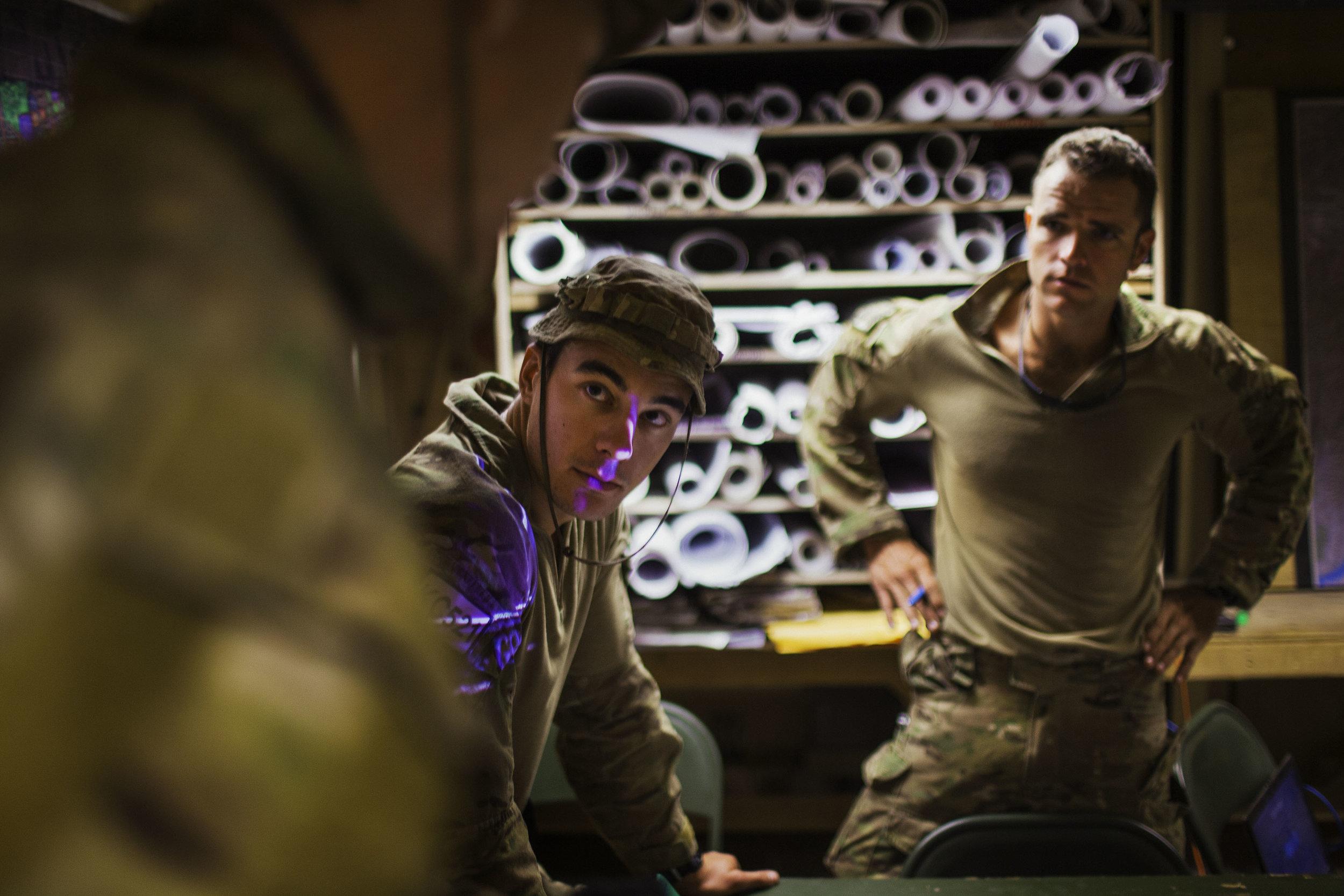 A work in progress project looking inside my own country.  Australian soldiers, Tarin Kowt, Afghanistan,2012