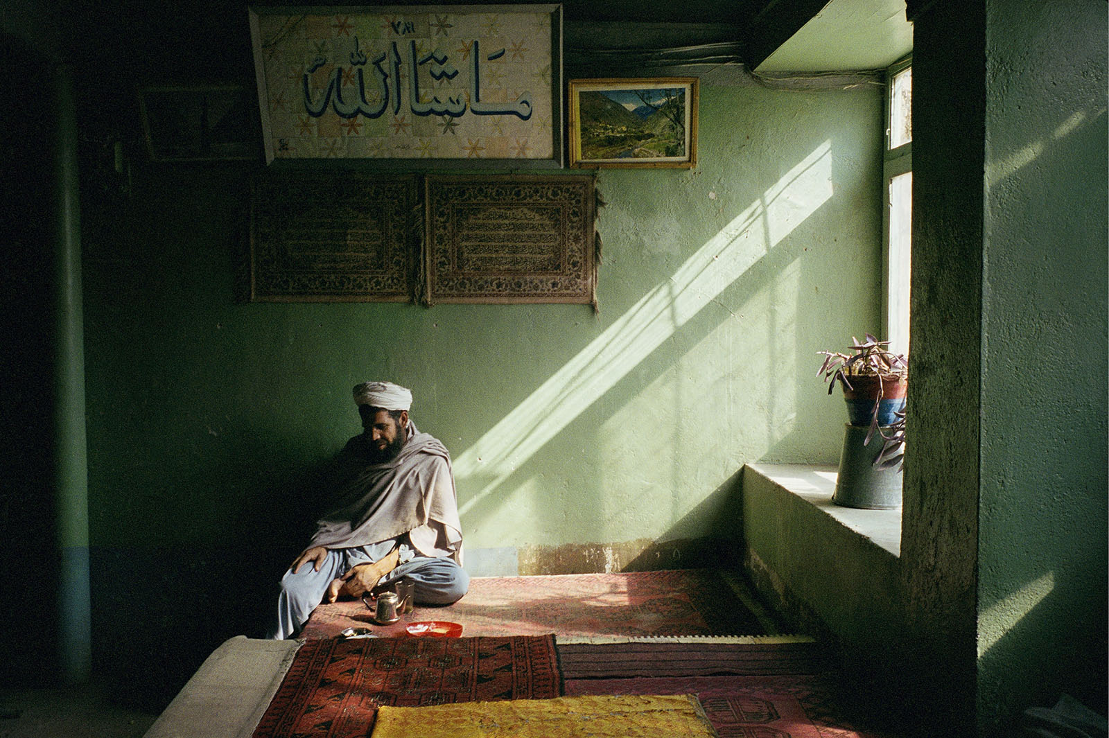 Tea House, Jabal Saraj, Afghanistan, 2002