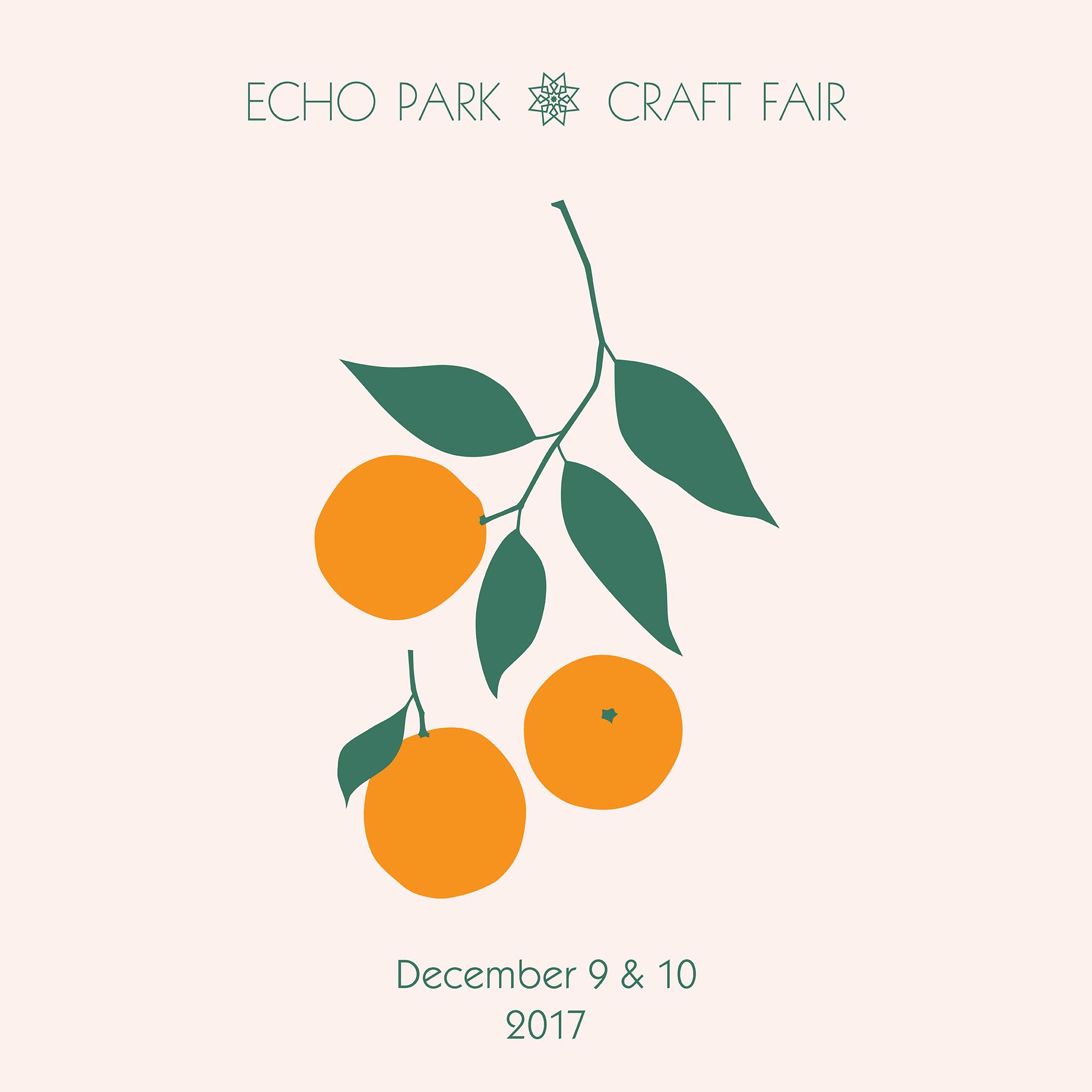 12/9/17 & 12/10/17 @ ECHO PARK CRAFT FAIR, LA •CALIFORNIA