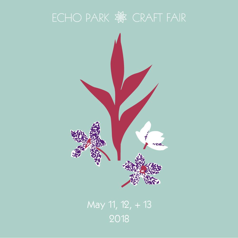 05/12/18 & 05/13/18 @ ECHO PARK CRAFT FAIR, LA •CALIFORNIA