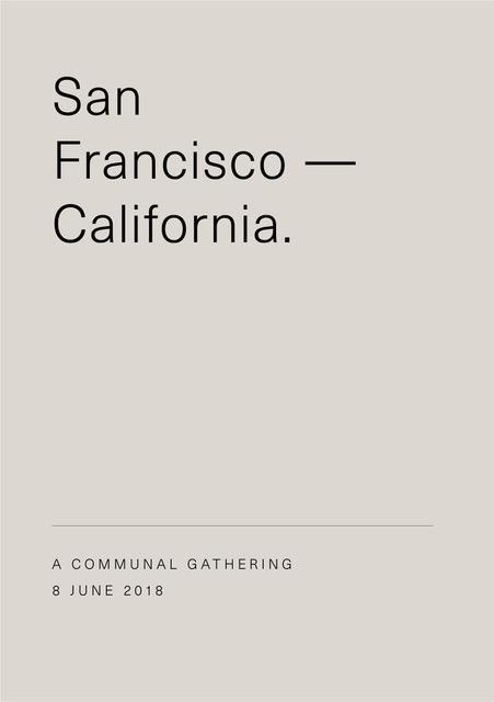 06/08/2018 @ THE CANTINA, SF •CALIFORNIA