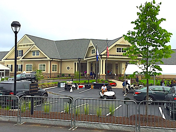 A new clubhouse was a major change at TPC River Highlands in Cromwell, Conn.