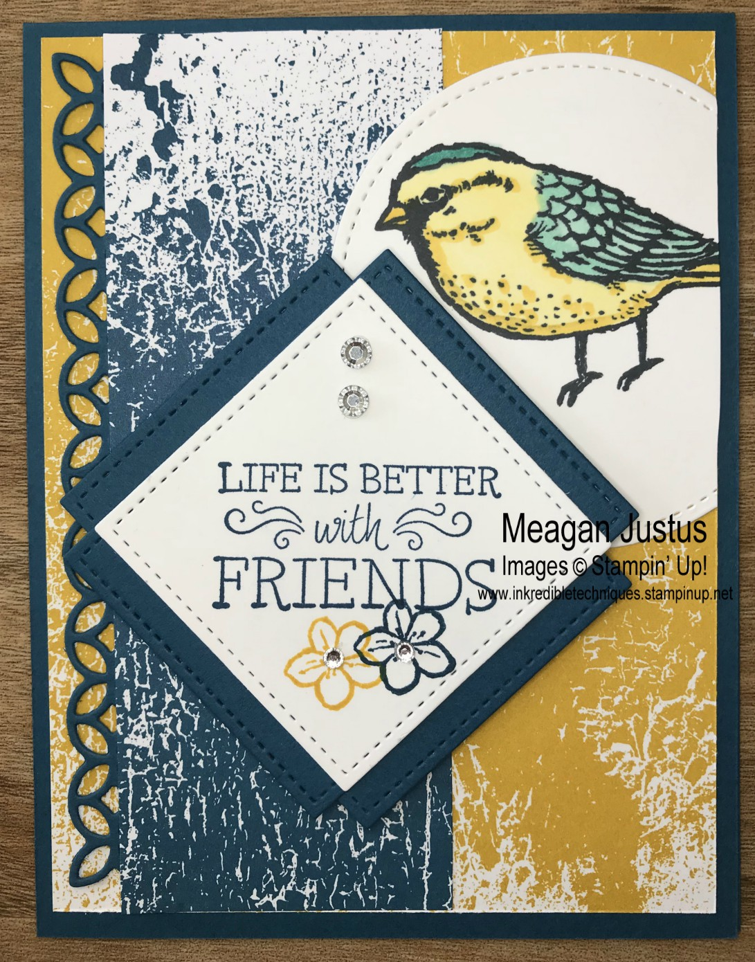Card Tutorial Best Birds Inkredible Techniques