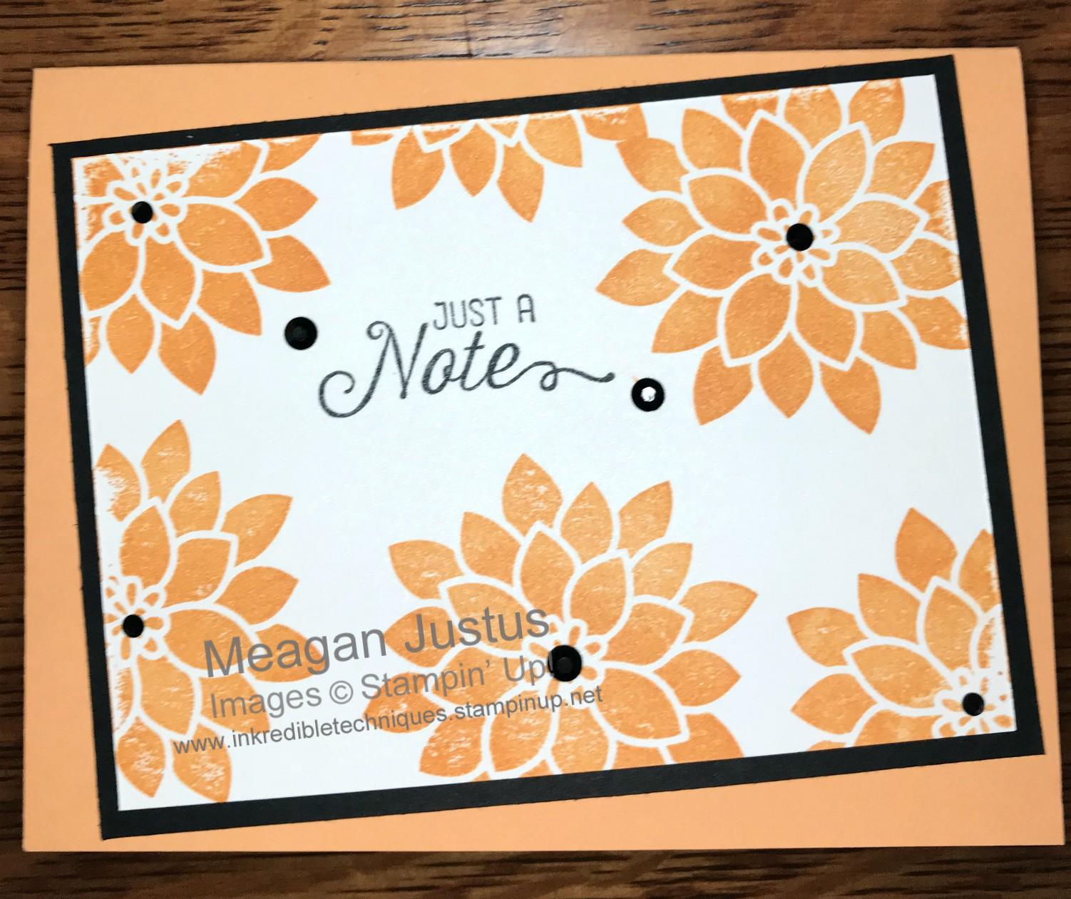 Make it quick card Flourishing Phrases