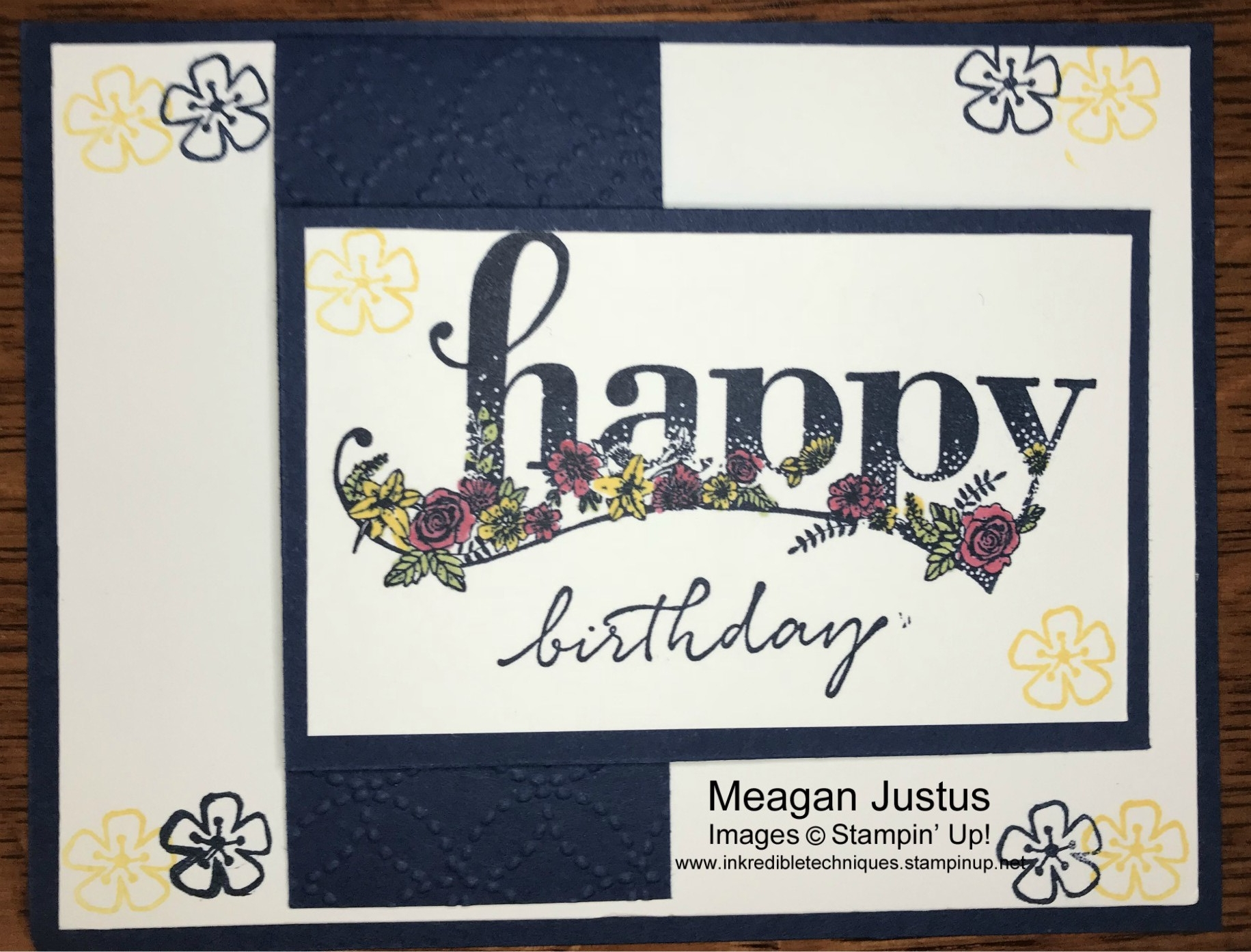Happy Wishes Stampin Up Set Sale A Bration Item