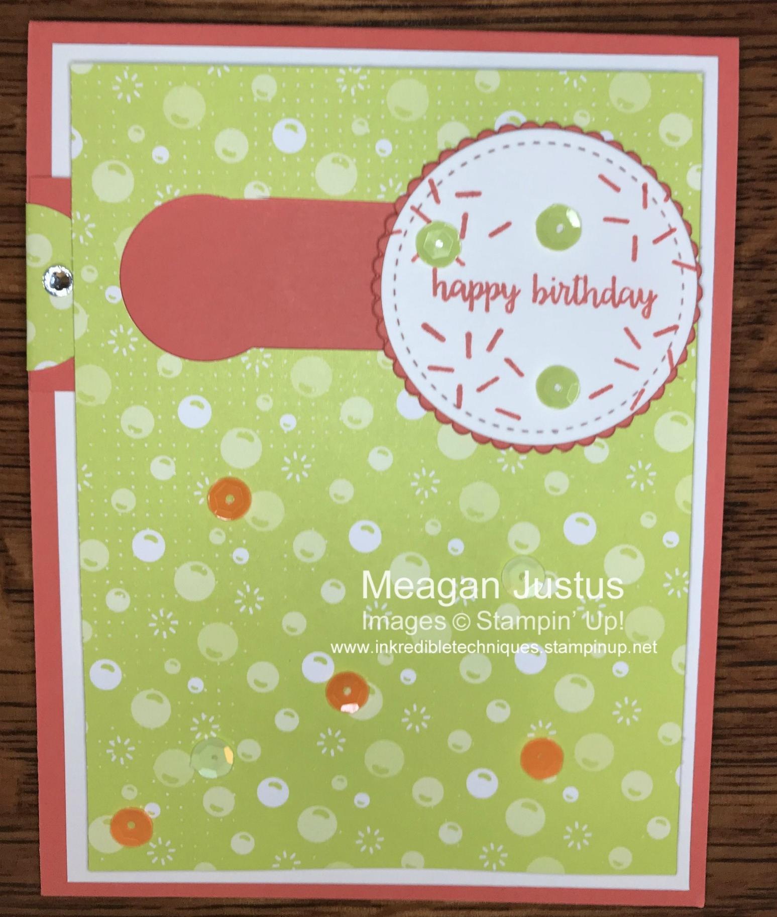 Happy Birthday Gorgeous Slider Card