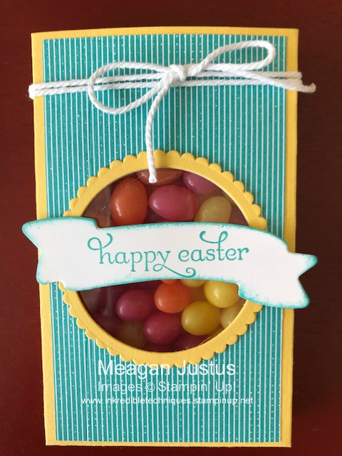 Easter Treat Box Stampin' Up Lots to Love Framelit