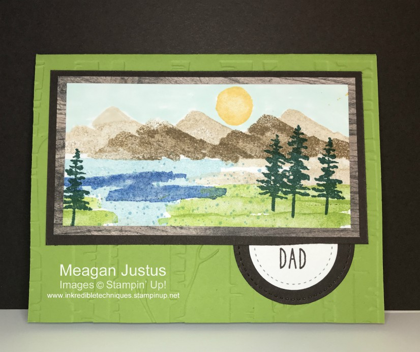 Easy Masculine Card Perfect for Guys
