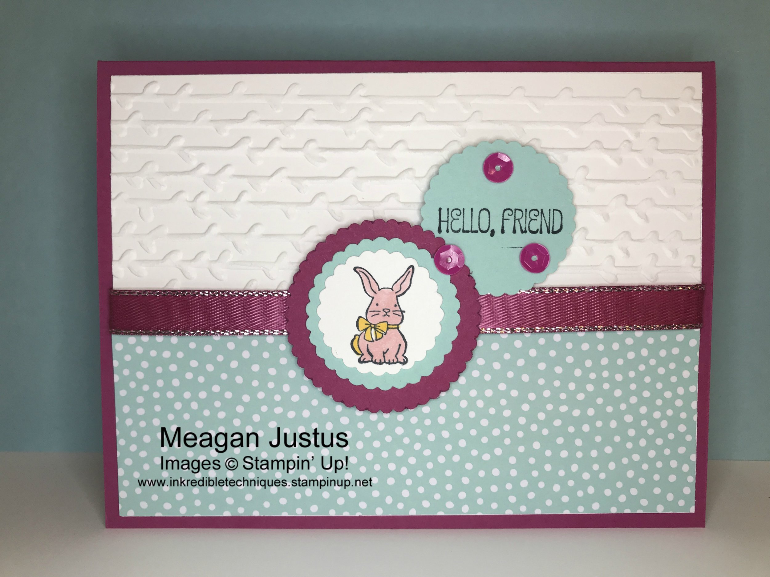 Easy Card With Stampin' Blends Tips