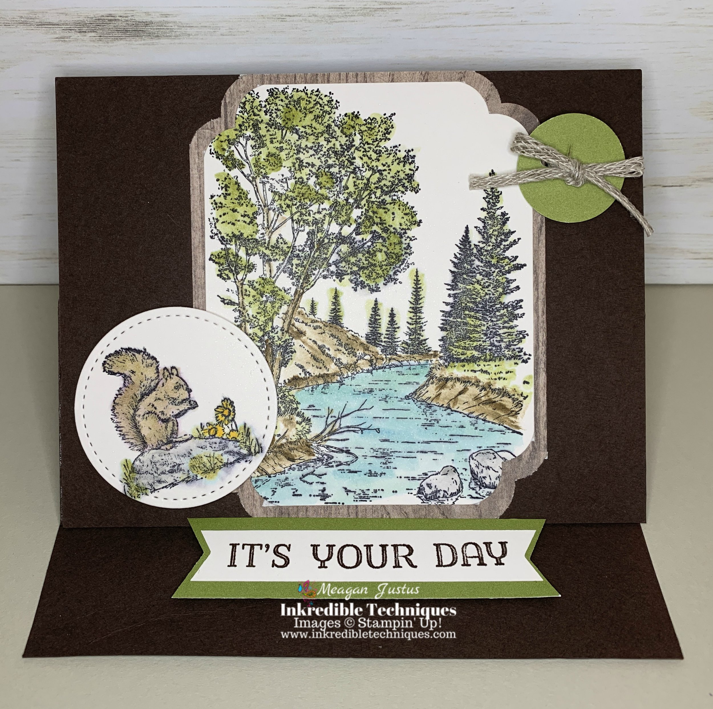 A Fun Easel Card Perfect to DIY for Dad's Birthday
