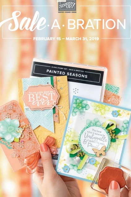 Stampin' Up! Sale-A-Bration-Release 2 Brochure