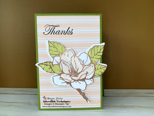 - Copper Embossing Really Adds Shimmer & Shine