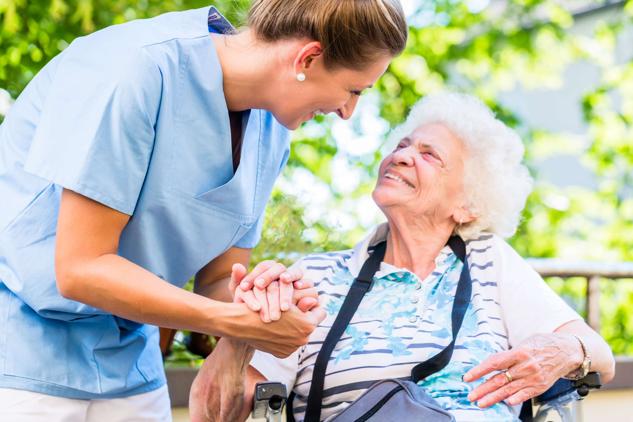 Your caregiver will be available when you need them
