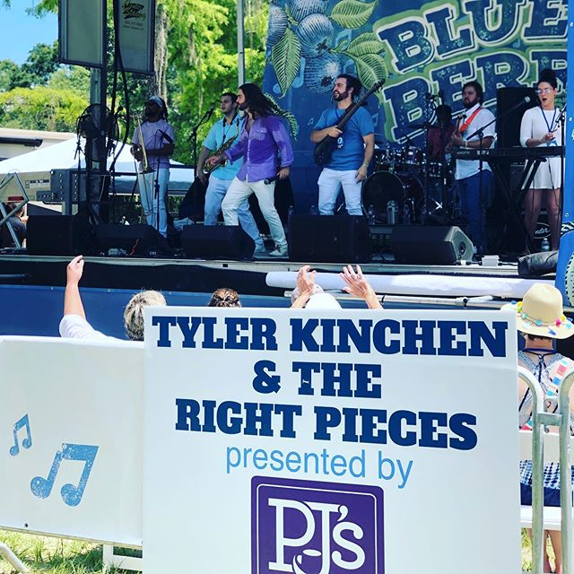 @bluesberryfest was wonderful! Thanks to the promoters and @pjscoffee for everything. And thanks to all who came out and enjoyed the beautiful weather.  We're at @ilov305official at the Hard Rock Biloxi. Show starts 9:30p.  #bluesberryfestival #themanandhisband #livemusic #covingtonla