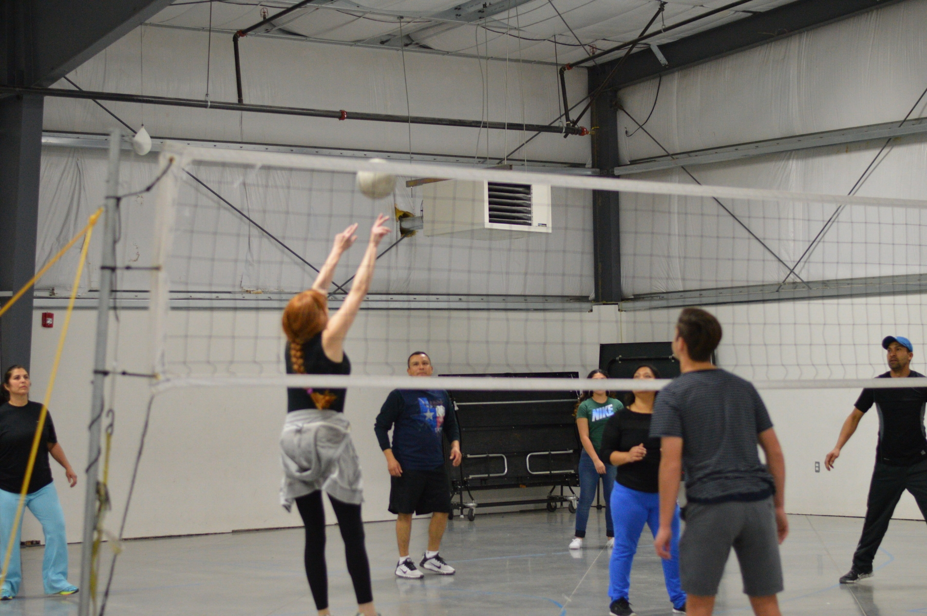 Connecting with our Spanish Ministry: Volleyball on Sundays