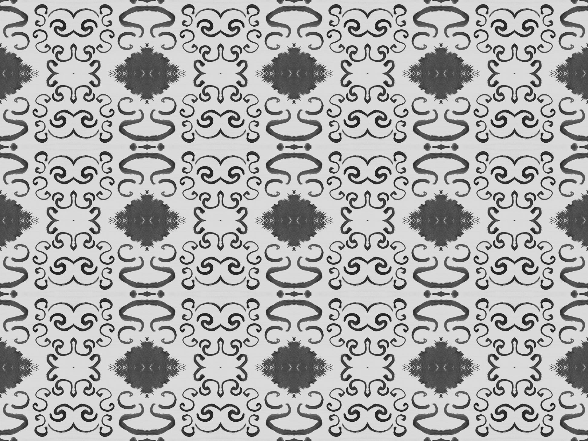 Marrakech Wallpaper Gray