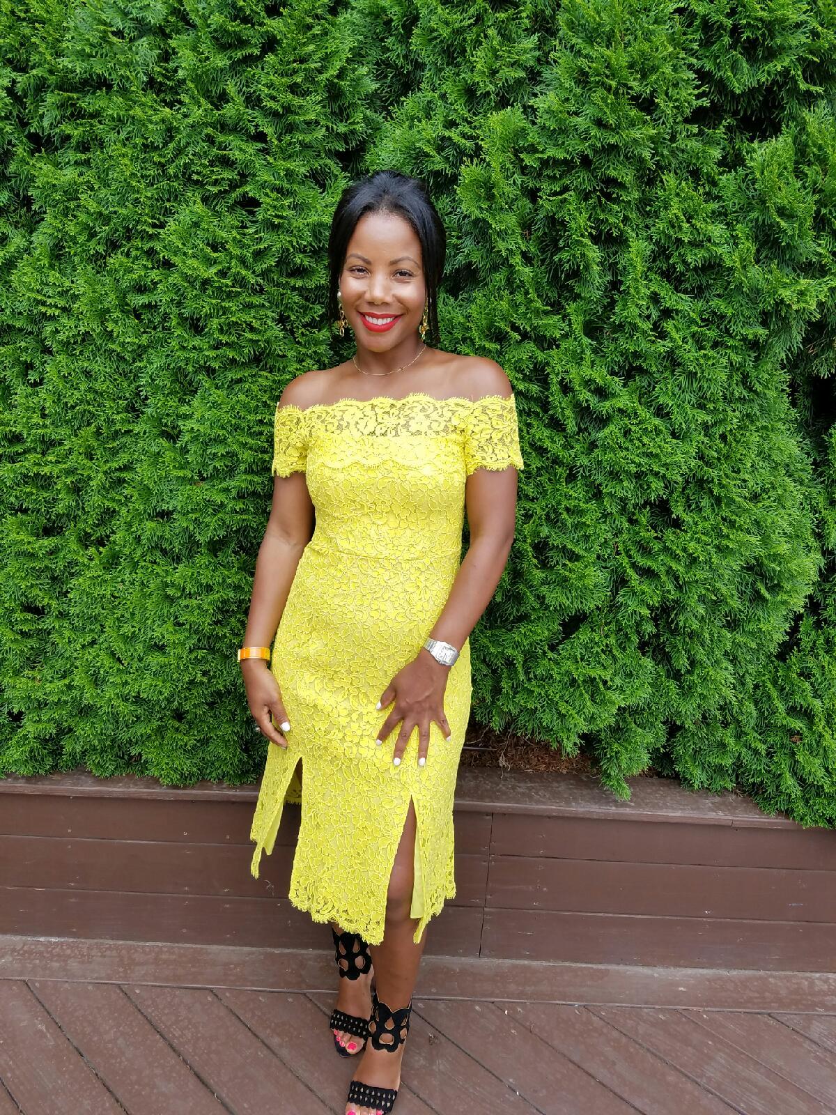 Rosie Yellow Dress