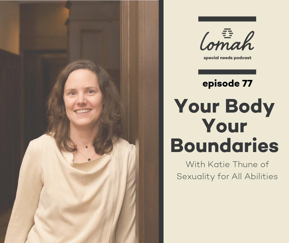 Special Needs Body Boundaries
