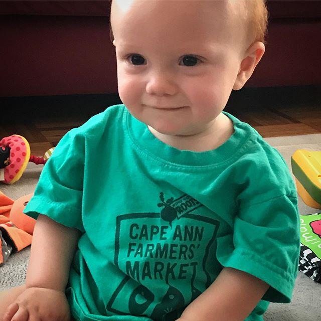 The littlest CAFM fan!