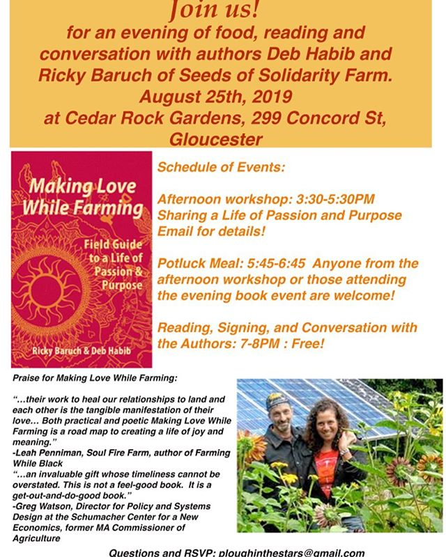 Today at Cedar Rock Gardens!