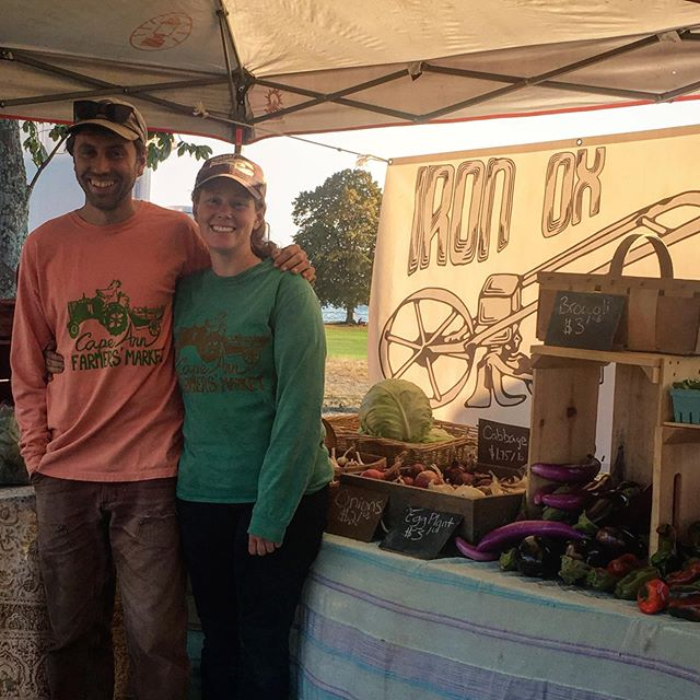 Grab some CAFM swag at the market tomorrow so you can rep your favorite market like these rad farmers at @ironoxfarm