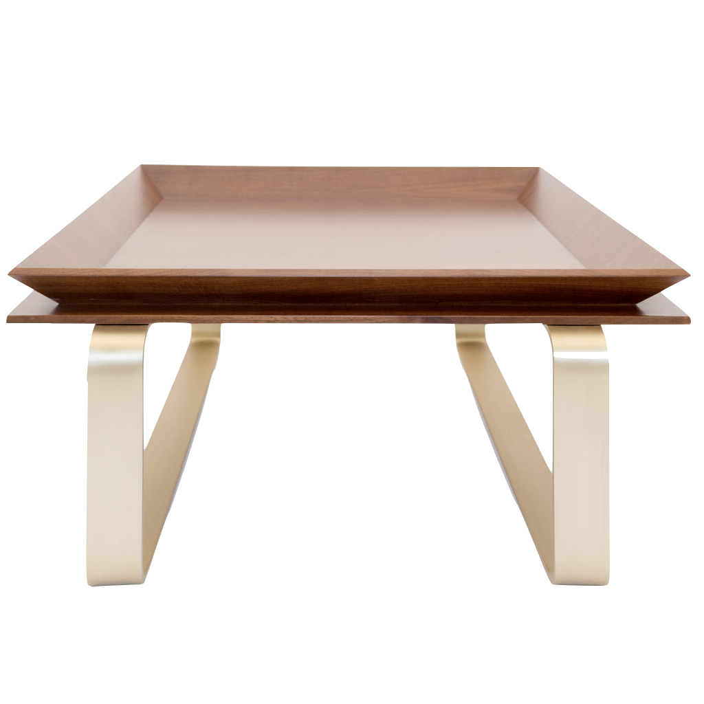 Le Tray Table Curved Legs
