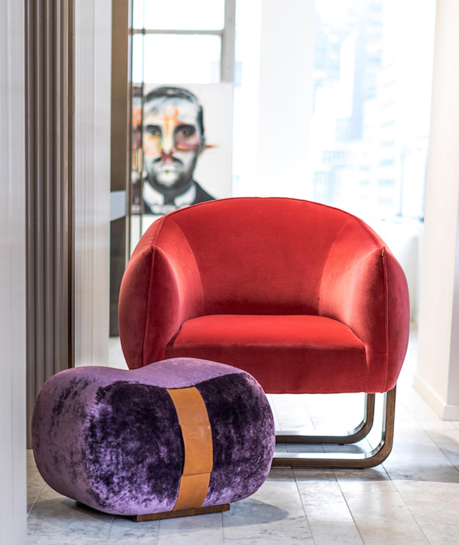 Marie-Burgos-Design.MBCollection.Milo-Chair.Milo-ottoman.GKC.showroom.D&D.Building.jpg